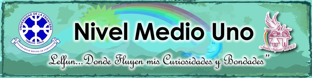 letrero NIVEL Medio Uno-01-01
